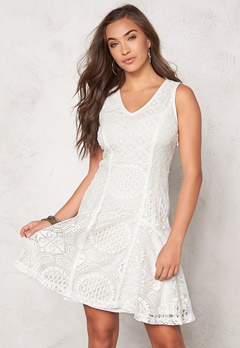 Desigual Croacia Dress Blanco Bubbleroom.fi
