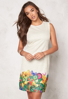 Desigual Guido Dress Blanco Bubbleroom.se
