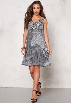 Desigual Italia Dress Blanco Bubbleroom.se