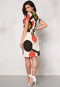 Desigual Lorena Dress Blanco Bubbleroom.se