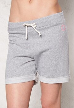 Drop of Mindfulness Boat House Shorts Grey melange Bubbleroom.se