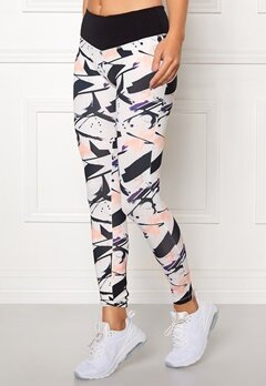 Drop of Mindfulness Bow II Training Tights Paint Print Bubbleroom.se
