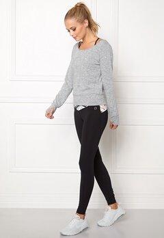 Drop of Mindfulness Sophie Sweater Grey Melange Bubbleroom.se