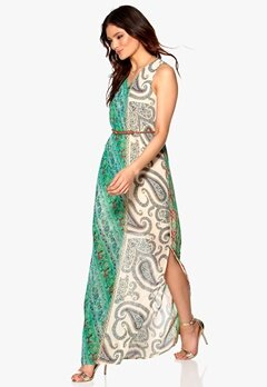 DRY LAKE Andressy Print Long Dress Summer Love Bubbleroom.se