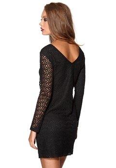 DRY LAKE Brittany Short Lace Dress Black Bubbleroom.se