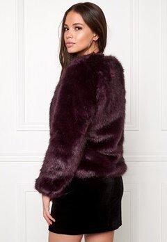 DRY LAKE Cozy Jacket Night Purple Bubbleroom.se