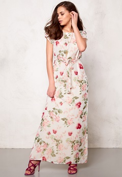 DRY LAKE Flower Power Long Dress Flower Print Bubbleroom.se