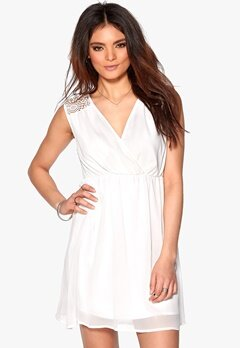 DRY LAKE Jacinta Dress White Bubbleroom.se