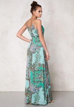 DRY LAKE Mix Long Strap Dress Green It Bubbleroom.se