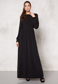 DRY LAKE Norah Dress Black Bubbleroom.se