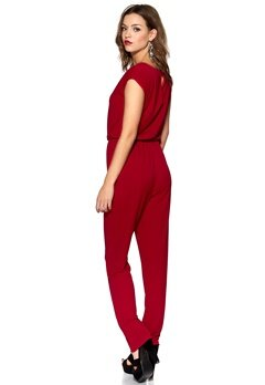 DRY LAKE Odessa Jumpsuit Red Bubbleroom.se