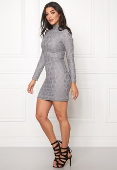 DRY LAKE Storm Turtle Dress Grey Lace Bubbleroom.se