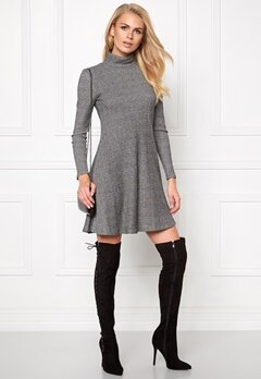 Make Way Edith Dress Grey melange Bubbleroom.se