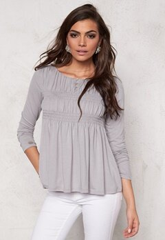 Chiara Forthi Elaine Smock Top Light mole Bubbleroom.se