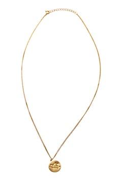 Erbs Denmark Sagittarius Necklace Gold Bubbleroom.se