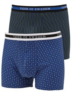 TIGER OF SWEDEN Famiglia Underwear 2-P 256 Big Blue Bubbleroom.se