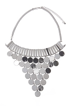 Make Way Aviana Necklace Silver Bubbleroom.se