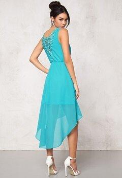 Model Behaviour Felicia Dress Turquoise Bubbleroom.se