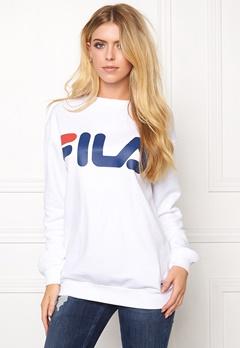 FILA Classic Logo Sweat White Bubbleroom.se