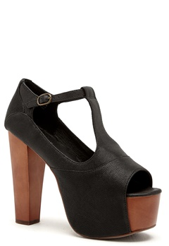 Jeffrey Campbell Foxy WD Shoes 020 Black Bubbleroom.se