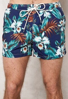 Franklin & Marshall Beachwear Blue Vintage Bubbleroom.se