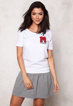 Franklin & Marshall Dress Fleece Uni White Bubbleroom.se