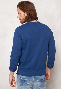 Franklin & Marshall Fleece Fleece Round Original Blue Bubbleroom.se