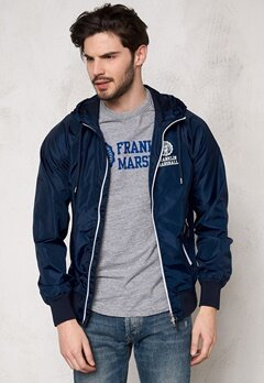 Franklin & Marshall Jackets Uni Zip Navy Bubbleroom.se