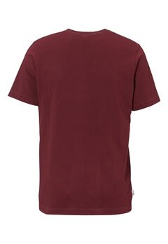 Franklin & Marshall Jersey T-Shirt 656 Bordeaux Bubbleroom.se