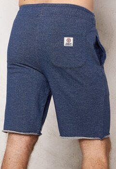 Franklin & Marshall Shorts Fleece Fleece Navy Melange Bubbleroom.se