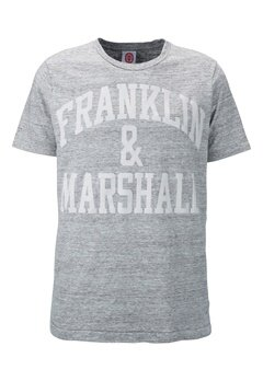 Franklin & Marshall T-Shirt 874 Sport Grey Bubbleroom.se