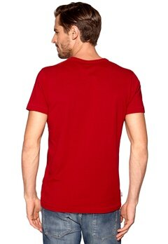 Franklin & Marshall T-Shirt Cardinal Bubbleroom.se