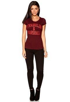 Franklin & Marshall T-Shirt Patrol Red Bubbleroom.se
