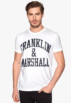 Franklin & Marshall T-Shirt Snow White Bubbleroom.se