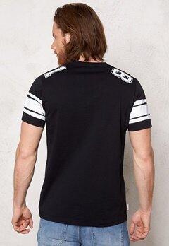 Franklin & Marshall Tshirt Jersey Round Black Bubbleroom.se