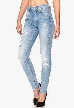 G-STAR 3301 Ult Hi Sup Jeans Bleach Wash Bubbleroom.se