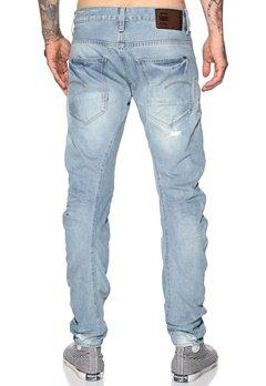 G-STAR Arc 3D Slim Jeans 1243 Lt Aged Destroy Bubbleroom.se