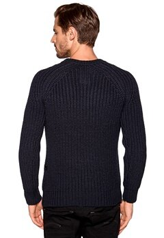 G-STAR Ave Knit 4213 Mazarine Blue Bubbleroom.se