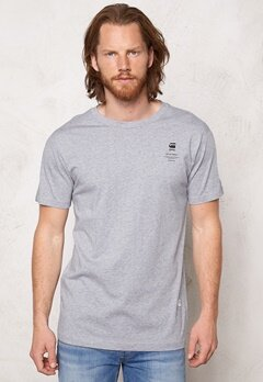 G-STAR Brandan s/s T-shirt 906 Grey Bubbleroom.se