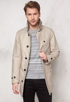 G-STAR Garber Trench 367 Khaki Bubbleroom.se