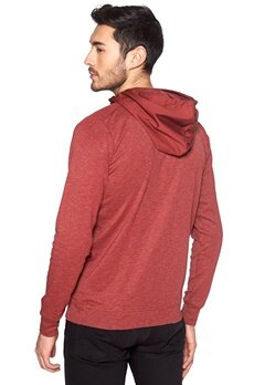 G-STAR Mikan Hooded L/S Sweater 5327 dk Cherry Bubbleroom.se