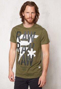 G-STAR Ozep s/s T-shirt 724 Sage Bubbleroom.se