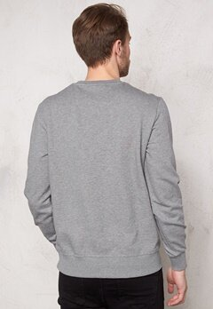G-STAR Resap l/s Sweater 6071 Platinum Bubbleroom.se