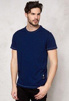 G-STAR Rinep Pocket s/s T-shirt 89 dk Aged Bubbleroom.se