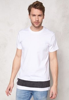 G-STAR Stonum Long s/s T-shirt 110 White Bubbleroom.se