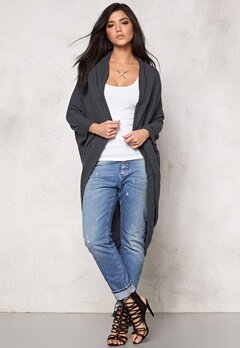 Make Way Garance Cardigan Dark grey Bubbleroom.se