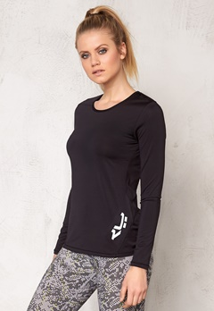 Röhnisch Genna Long Sleeve Black Bubbleroom.se