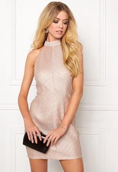 Girl In Mind Short Dress Champagne Bubbleroom.no