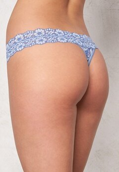 Hanky Panky Low Rise Thong Chambray/Ivory Bubbleroom.se