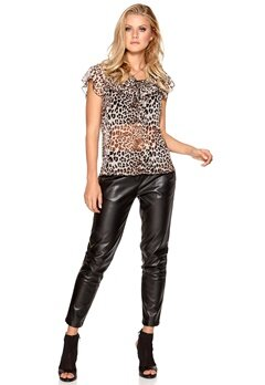 Happy Holly Blus Leopard Bubbleroom.se